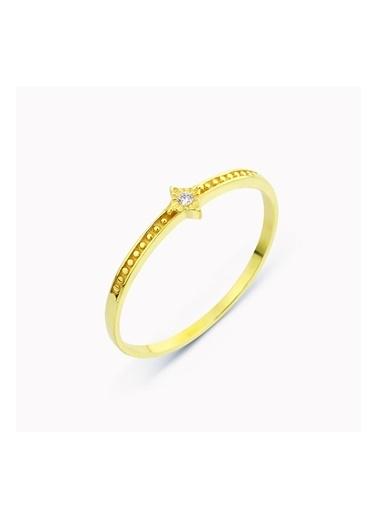 Mist Jewels Yüzük Sarı
